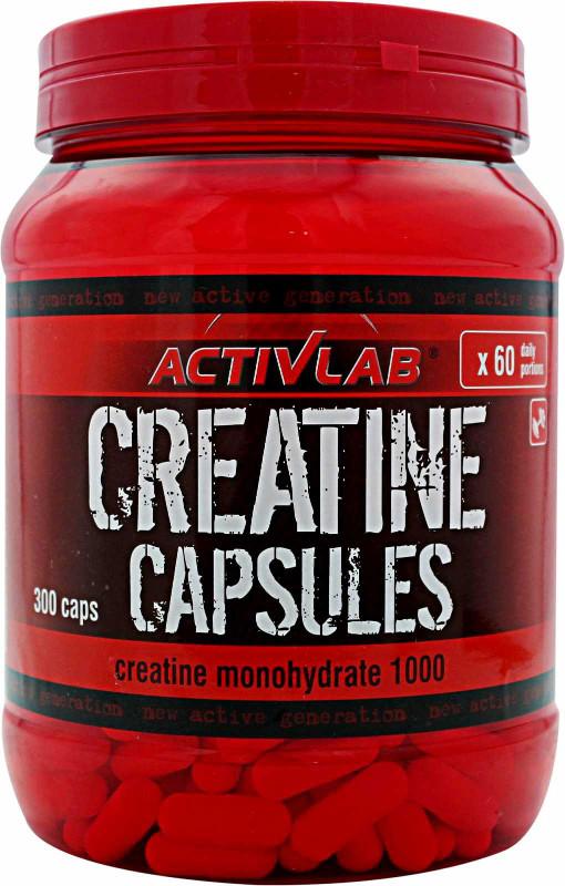 Activlab Creatine Capsules 300 Caps Bodybuilding And