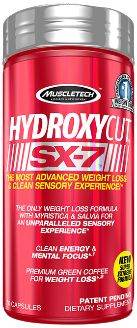 MuscleTech Hydroxycut SX-7 Series - Bodybuilding and