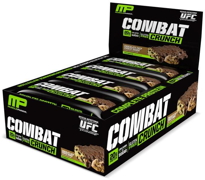 Combat Crunch Bars Chocolate Chip Cookie Dough