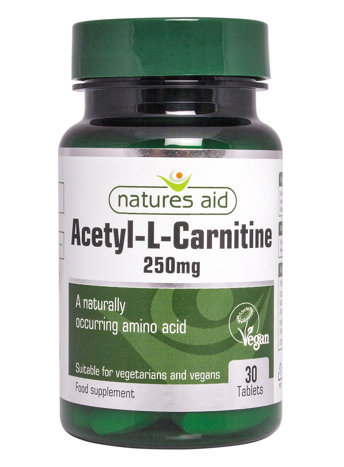 Nature's Aid Acetyl-L-Carnitine, 250mg - 30 tablets