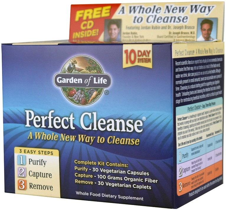 Garden Of Life Perfect Cleanse Kit 1 Kit Bodybuilding And Sports Supplements