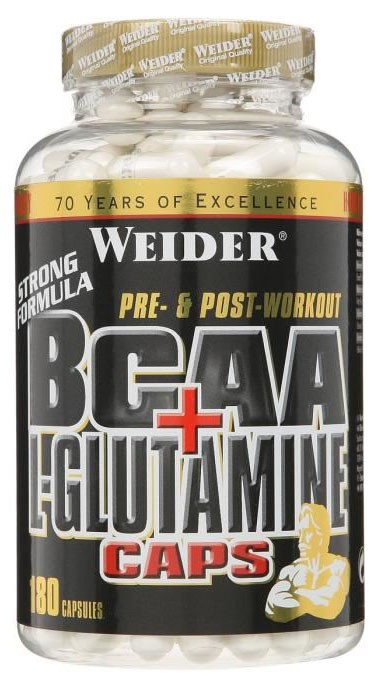 glutamine or bcaa for recovery