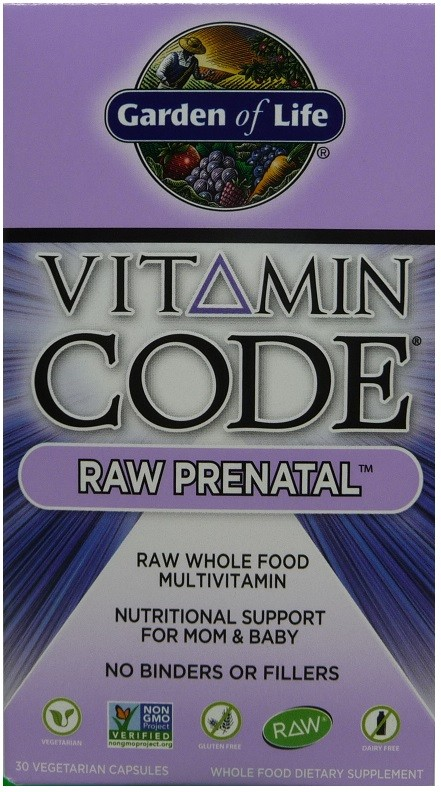 Vitamin Code RAW Prenatal. Garden Of Life