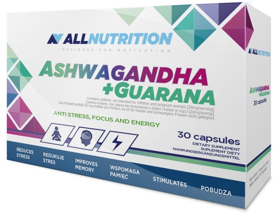 Ashwagandha Guarana 30 Caps