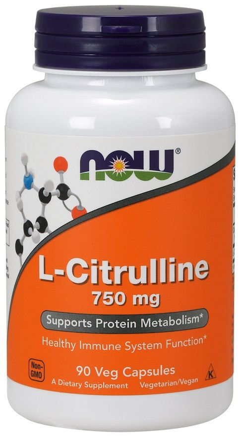 NOW Foods L-Citrulline - Bodybuilding and Sports Supplements