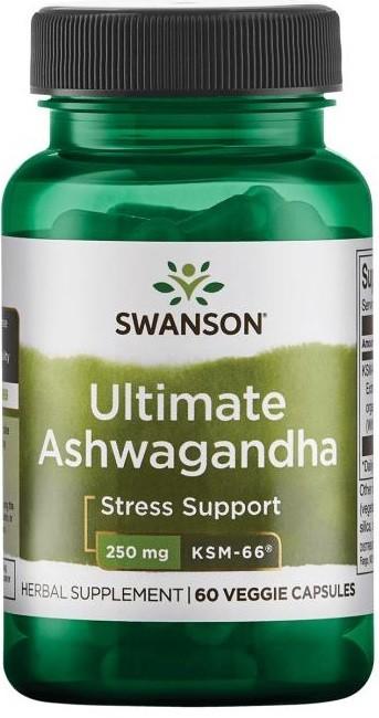 Ultimate Ashwagandha, 250mg - 60 vcaps