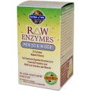 RAW Enzymes, Men 50 & Wiser - 90 vcaps