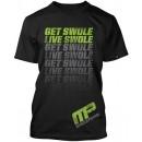 Get Swole Live Swole Flagship T-Shirt - Black