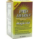 Uno Diario Mujeres (for women) - 100 tablets (expires: 2016/07/31)