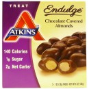 Endulge Chocolate Covered Almonds - 5 x 28g