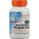 Best Stabilized R-Lipoic Acid, 100mg - 60 vcaps