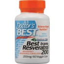 Best Trans-Resveratrol, 200mg - 60 vcaps