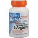 Sustained Plus Immediate Release L-Arginine, 500mg - 120 tablets