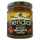 Organic Almond Butter, Smooth - 170 grams (expires: 2016/09/30)