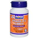 Vitamin D-3 - 5000 IU - 240 softgels