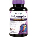 B-Complex Fast Dissolve, Coconut - 90 tablets