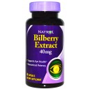 Bilberry Extract, 40mg - 60 caps