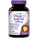 Omega-3 Krill Oil, 1000mg - 30 softgels