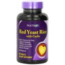 Red Yeast Rice, with Garlic - 60 tablets