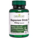 Magnesium Citrate, 125mg Elemental - 60 tablets