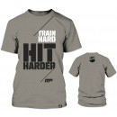 Hit Harder T-Shirt - Light Grey
