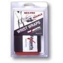 Wrist Wraps, White - 1 pair