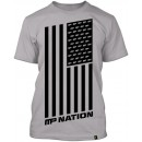 Nation T-Shirt - Light Grey