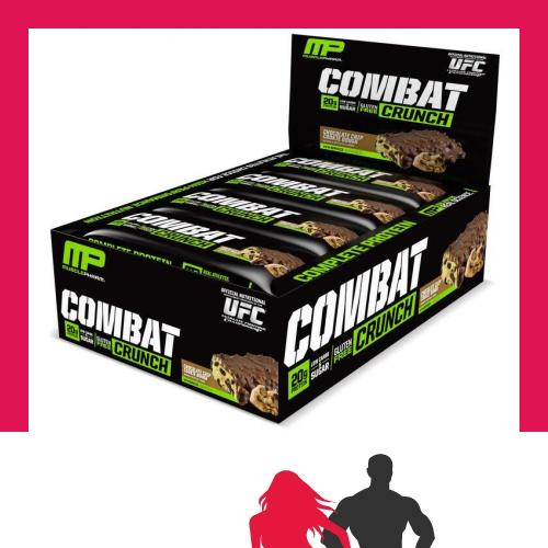MusclePharm Combat Crunch Bar 12 Bars Smores
