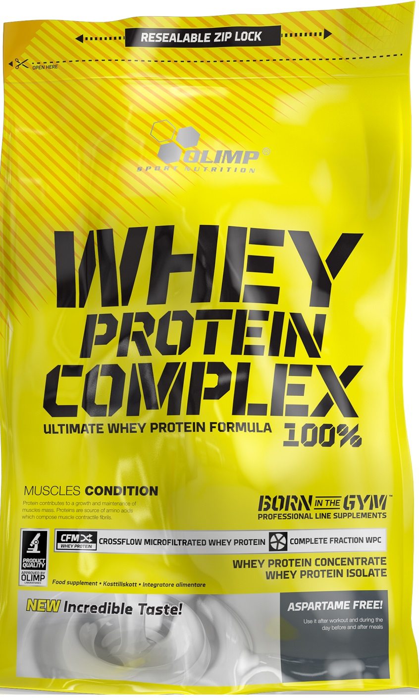 db8b16719e3b Olimp Nutrition Whey Protein Complex 100% - Bodybuilding and Sports ...