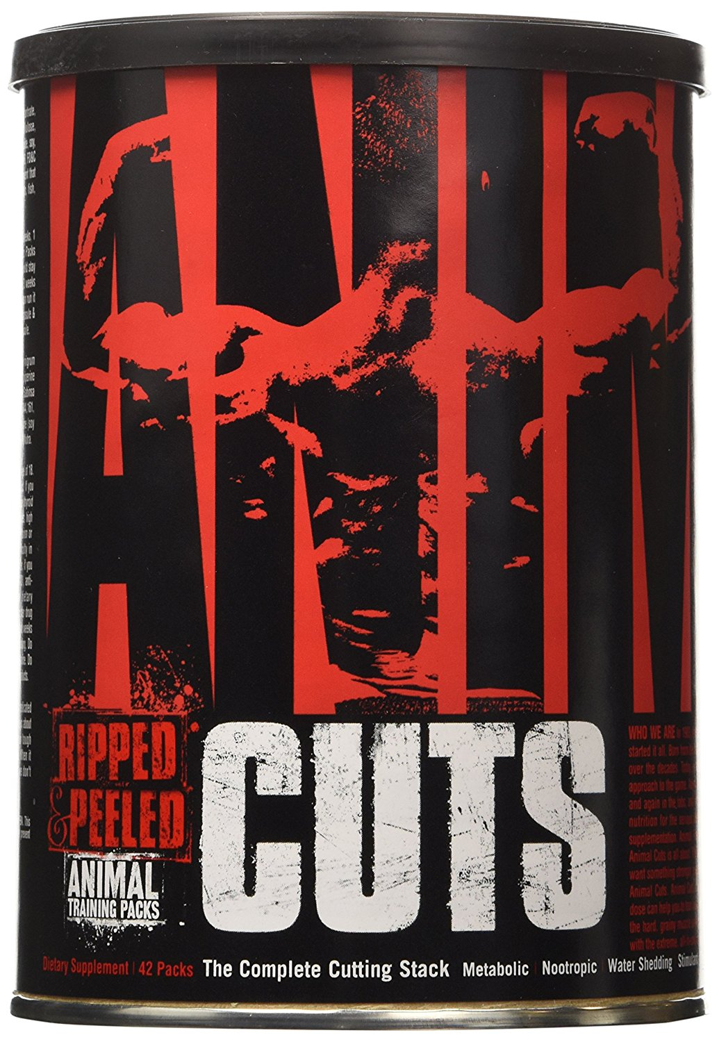 Universal Nutrition Animal Cuts - 42 packs - Bodybuilding