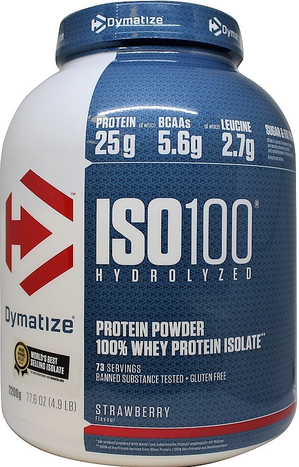 Dymatize Iso 100 Bodybuilding And Sports Supplements