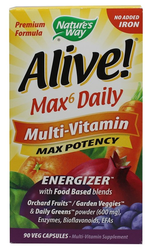 Nature S Way Alive Max  Daily Multi Vitamin