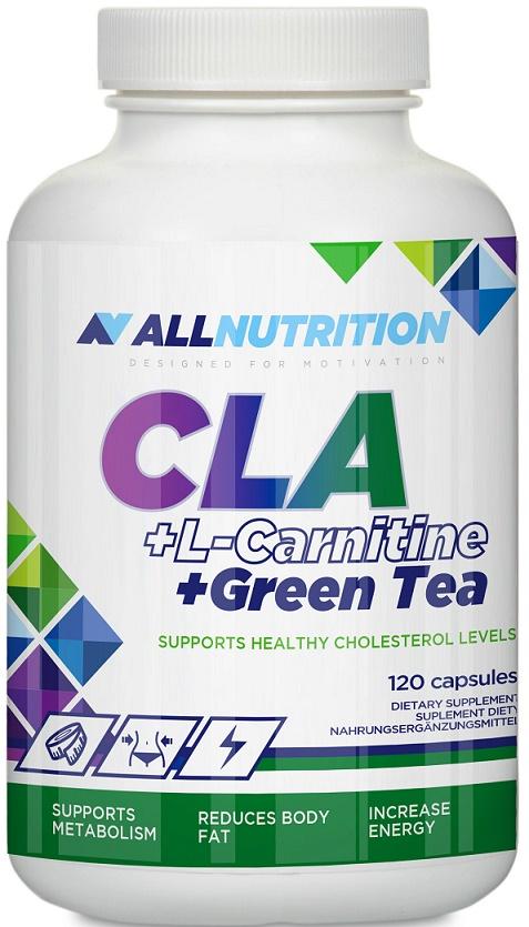 Allnutrition CLA + L-Carnitine + Green Tea - 120 caps