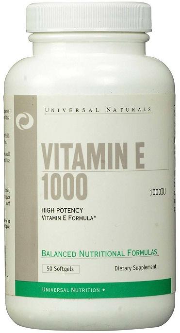 Vitamin E 1000, 1000 IU - 50 softgels