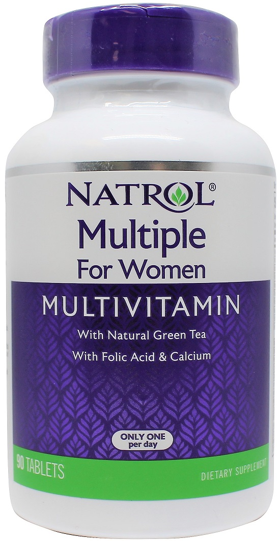 natrol multiple for women 90 tablets bodybuilding and