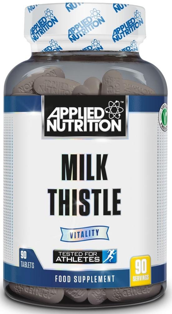 Znalezione obrazy dla zapytania: applied nutrition milk thistle