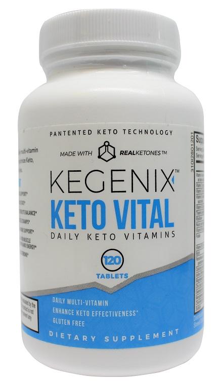 Keto Vital Daily Keto Vitamins 120 Tabs
