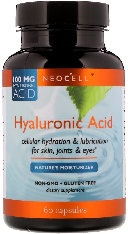 Hyaluronic Acid, 100mg - 60 caps