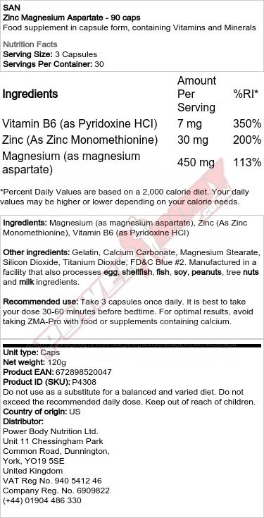 Zinc Magnesium B6
