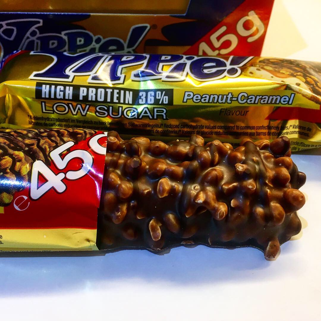 weider yippie peanut caramel